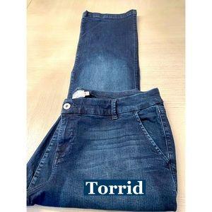 Torrid, Denim Stretch Blue Jeans Sz 20R